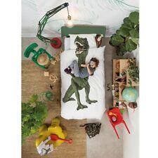 Snurk dinosaur King Single duvet cover Designed in Holland Made in Portugal