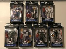 Marvel Legends Captain America Red Skull Onslaught BAF Lot of 7 Complete Set