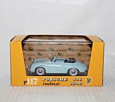 Brumm Serie Die Cast Oro Revival R117 1950 Porsche 356 Roadster 1:43 IOB & Case