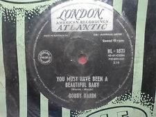 "Bobby Darin ""You Must Have Been A Beautiful Baby"" 1961 LONDON Oz 7"" 45rpm"