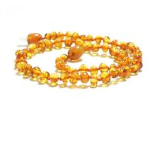 Lot 10 Wholesale Baltic amber baby baroque necklace + each certificate
