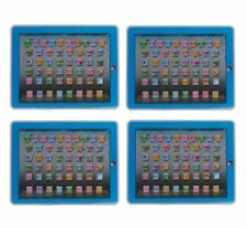 YPAD Multimedia Learning Computer Toy Tool for Kids Machine (Blue) Set of 4