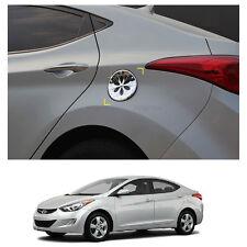 Chrome Cap Fuel Gas Cover Molding Emblem for Hyundai Elantra 2011-2016