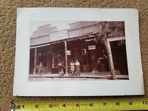 Circa 1895 Yreka California Cigar Factory Cabinet Photograph