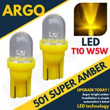 Bright Led Xenon Power Side Light Hid 501 W5w 158 168 T10 Super Amber Bulbs 12v