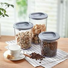 New listing Vacuum Kitchen Storage Containers, 3 Pcs Pantry Containers 274oz/ 6.5L