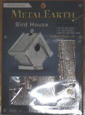 Bird House Metal Earth 3D Laser Cut Metal Model Fascinations MMS039