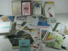 Lot of Unused Mixed Greeting Cards & Envelopes Sympathy, Christmas, B-Day