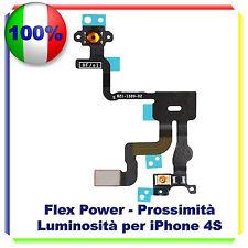 FLAT TASTO POWER ACCENSIONE PER IPHONE 4S SENSORE PROSSIMITA' FLEX ON OFF