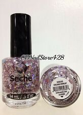 Seche Vite Nail Polish- COLLAGE OVERLAY 25035 Topcoat 0.5oz