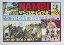 CINO E FRANCO - NAMBI LO STREGONE (Nerbini) Ristampa Anastatica