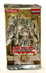 YuGiOh! The Lost Millennium TLM Booster Pack Unlimited English Edition