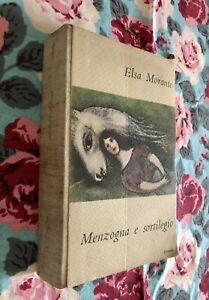 Elsa Morante, Menzogna e sortilegio, Einaudi, 1948, 1a prima edizione Narrativa