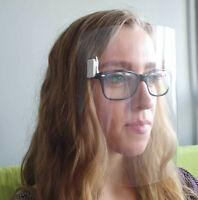 MPS-Visier Gesichtsschutz Brillenträger Gesichtsschild Mund Auge Brillenvisier