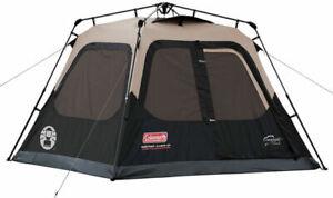 Coleman FPS-136929 4-Person Cabin Tent - Brown/Black