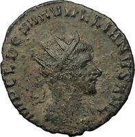 Aurelian  270AD Authentic Ancient Roman Coin Virtus  Valour i57680
