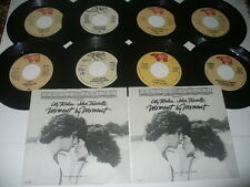 Yvonne Elliman Pic Sleeves + 45s Hello Stranger If I Can't Have You Love Me etc.