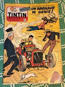 JOURNAL TINTIN 377 France (1956) BD ancienne couv jean graton