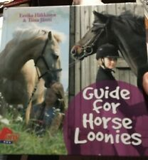 Guide for Horse Loonies children's book Practical Hints and Advice, Free Ship!