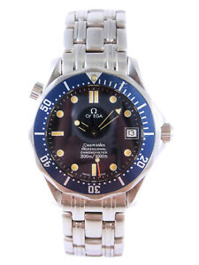 OMEGA Seamaster Professional 300m Mid Size Automatic Date Watch 2551.80 Serviced