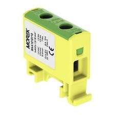 Verteilerblock f.Al/Cu 1,5-16mm2 gelb-grün 1P OTL 16 MAA1016Y10 Morek 3750
