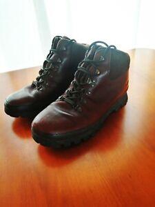 'BRASHER' Hillmaster WALKING Boots UK 9 GORE-TEX Brown Leather VGC HIKING
