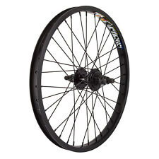 """20"""" Alloy BMX Rear Wheel with 9 Tooth Driver Double Wall Rim with 14mm Axle"""