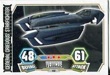Star Wars Force Attax Series 3 Card #112 General Grievous Starfighter