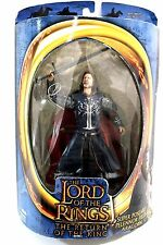 TOY BIZ THE LORD OF THE RINGS RETURN OF THE KING POSEABLE PELENNOR FIELD ARAGORN