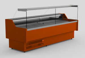 GRAVIS REFRIGERATED SERVE OVER COUNTER DISPLAY VARIOUS COLOURS & DIMENSIONS