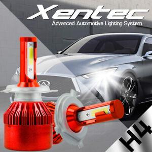 H4 9003 HB2 LED Headlight Kit 488W 48800LM High/Low Beam Head Fog Bulbs