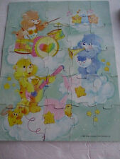 1986 Golden Brand 25 Piece Jigsaw PUZZLE Care Bears  Complete # 4692