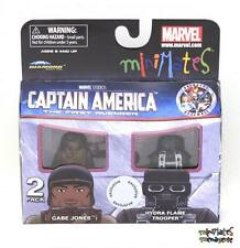Marvel Minimates TRU Captain America Movie Gabe Jones & Hydra Flame Trooper