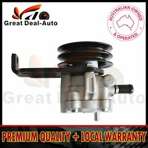 Power Steering Pump w/ Pulley for Holden Rodeo TF Monterey Jackaroo 88-02