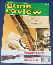 GUNS REVIEW MAGAZINE AUGUST 1995 - THE BROWNING B425 GAME GUN