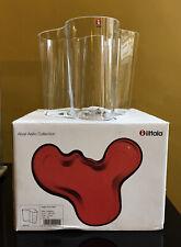 Iconic Design: Iittala Glass 16cm 'Savoy' Vase by Alvar Aalto - Boxed