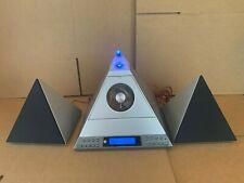 Radio Shack Pyramid Mini Stereo System CD Cassette Cat. No. 13-1317