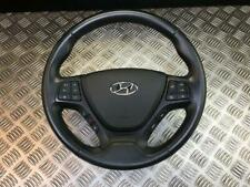 14-18 HYUNDAI I10 MK2 MULTIFUNCTION LEATHER STEERING WHEEL/AIRBAG (SCRATCHED)