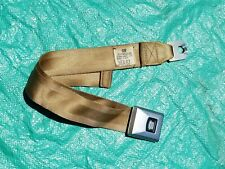 OEM 1967 1968 Cadillac Front Bench Seat Belt Buckle ~Nice Looking Buckle~