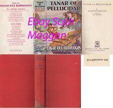 Edgar Rice Burroughs  TANAR OF PELLUCIDAR  1st w/ ORIGINAL dj 1939