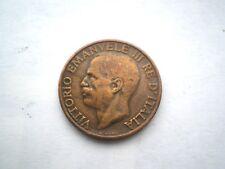 Early 10 centisimi Coin DALL'ITALIA-DATATO 1930 BELLA