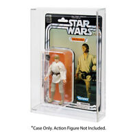 """Star Wars 40th Anniversary Black Series 6"""" Carded Figure Acrylic DISPLAY CASE"""