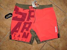 Men's Reebok Spartan Race Fitness Athletic Workout Jogging Shorts XL