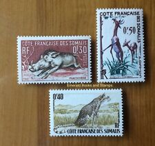 EBS French Somaliland - Côte française des Somalis - Beautiful Stamps - Animals