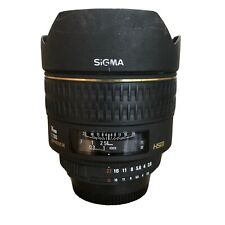 Sigma 14mm ex f2.8 Nikon montaje ultra gran angular