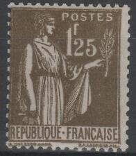 """FRANCE STAMP TIMBRE N° 287 """" TYPE PAIX 1F25 OLIVE """" NEUF xx TTB  N418"""