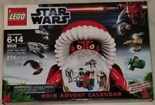 NEW LEGO STAR WARS 2012 ADVENT CALENDAR Sealed Retired NIB Set #9509 9509