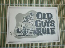 "50 OLD GUYS RULE CARDS & ENVELOPES "" TO THE LORD OF THE LAWN ""  5"" X 7"""