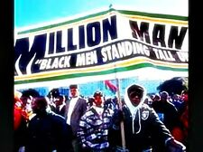 MILLION MAN MARCH DVD C-SPAN 6+ HOURS LOUIS FARRAKHAN BETTY SHABAZZ MUCH MORE