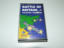 BATTLE OF BRITAIN  by MICROGAME SIMULATIONS  ZX SPECTRUM 48K RARE COMPLETE!